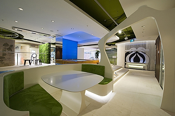 GEPLAN DESIGN-KLAFS flagship concept world