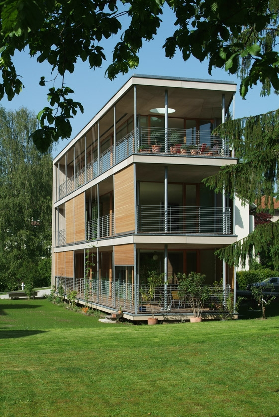 Halle 58 Architekten-Multifamily home Gebhartstrasse