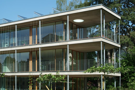 Multifamily home Gebhartstrasse de Halle 58 Architekten | Immeubles