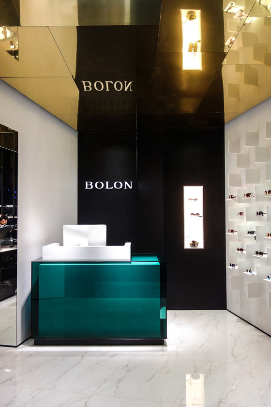 Bolon eyewear by pfarré lighting design shop interiors
