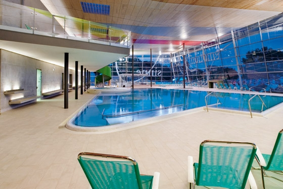 Lake Constance Thermal Baths by 4a Architekten GmbH | Indoor swimming pools