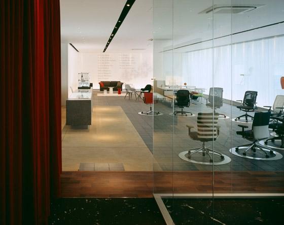 Interoffice Osaka Branch / Showroom de WARO KISHI + K.ASSOCIATES | Oficinas