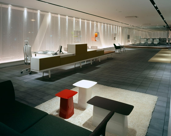 Interoffice Osaka Branch / Showroom von WARO KISHI + K.ASSOCIATES | Büroräume