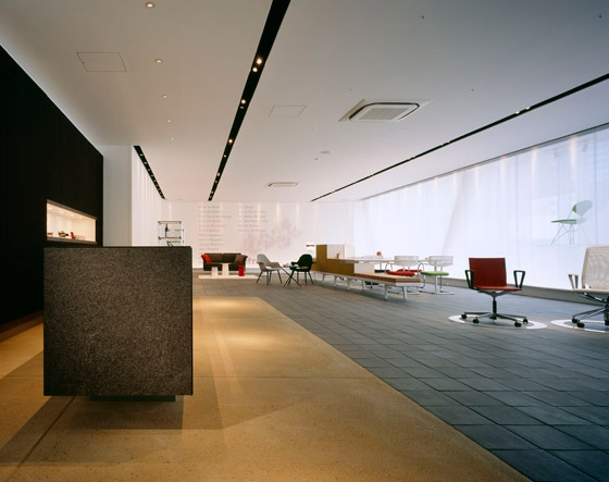 Interoffice Osaka Branch / Showroom by WARO KISHI + K.ASSOCIATES | Office facilities