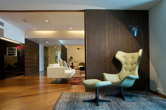 Mumbai Penthouse by Rajiv Saini | Living space