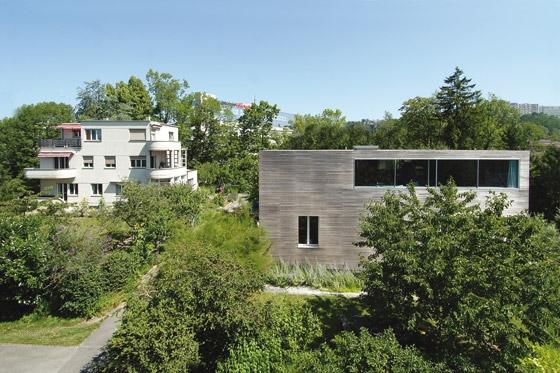 Villa + Office Tardin-Pittet von TARDIN PITTET | Bürogebäude