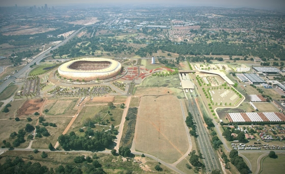 Soccer City Stadium - 'THE MELTING POT' di Boogertman + Partners Architects | Arene sportive