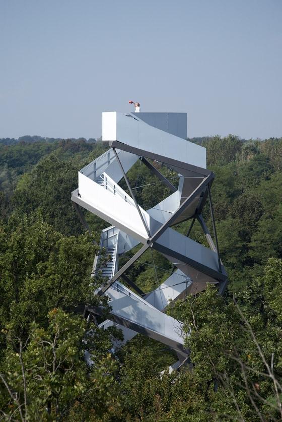 [组图] 双螺旋型观景台 蜿蜒空中的雕塑(27P) - 路人@行者 - 路人@行者