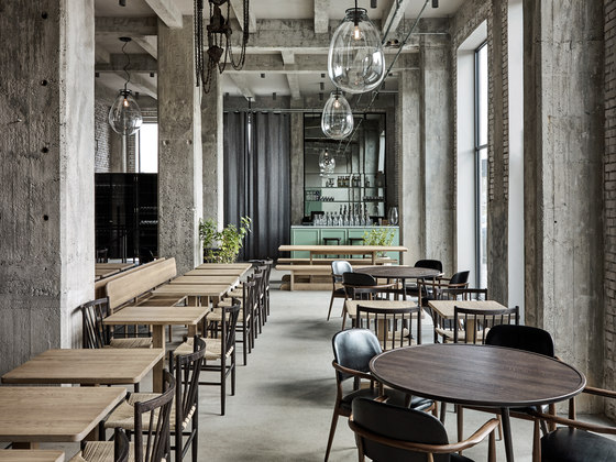 Restaurant 108 by Space Copenhagen | Restaurant interiors