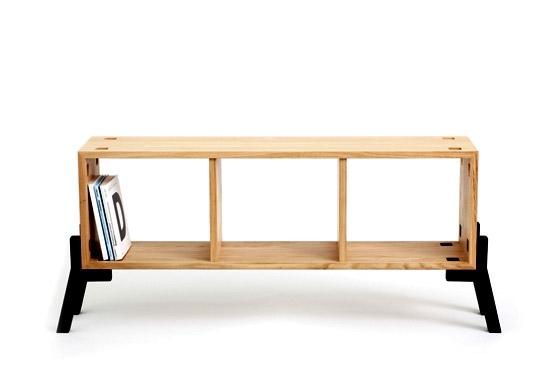 Tonic // Sideboard-Bookcase //Oak Wood by Reinhard Dienes | Short runs