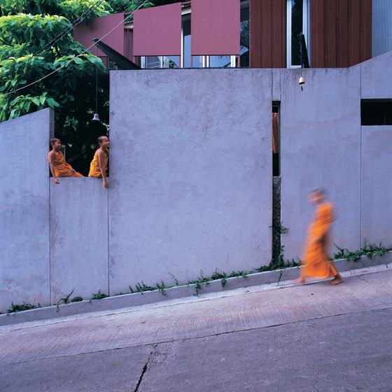 Walled monk's cell by Suriya Umpansiriratana | Church architecture / community centres
