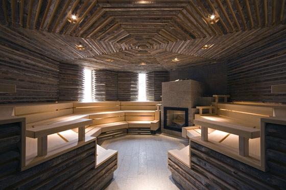 Mario Botta Architetto-Wellness centre 'Tschuggen Bergoase'
