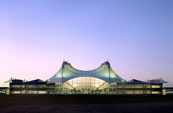 Denver International Airport By Fentress Architects Airports