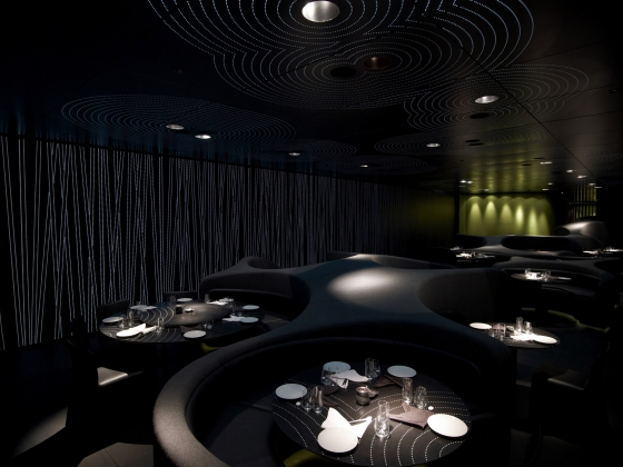 Chan restaurant at The Met von ama - Andy Martin Architects | Restaurant-Interieurs