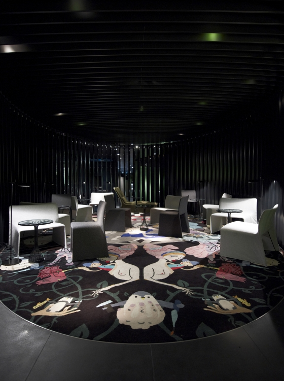 ama - Andy Martin Architects-Chan restaurant at The Met