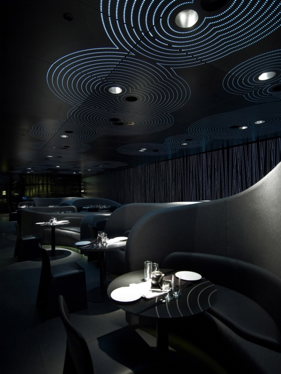 Chan restaurant at The Met by ama - Andy Martin Architects | Restaurant interiors