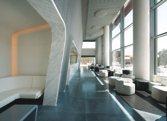 Marc Newson Ltd.-Hotel Puerta America, Marmo Bar + 6th floor