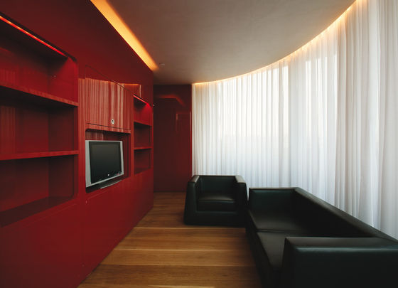 Hotel Puerta America, Marmo Bar + 6th floor von Marc Newson | Hotel-Interieurs