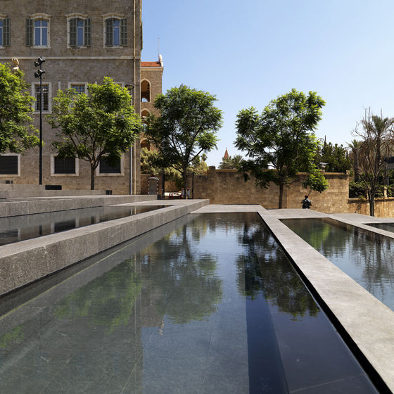 Hariri Memorial Garden by Vladimir Djurovic   Public squares