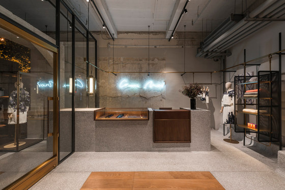 Comme moi flagship store by neri hu design and research for Office design research