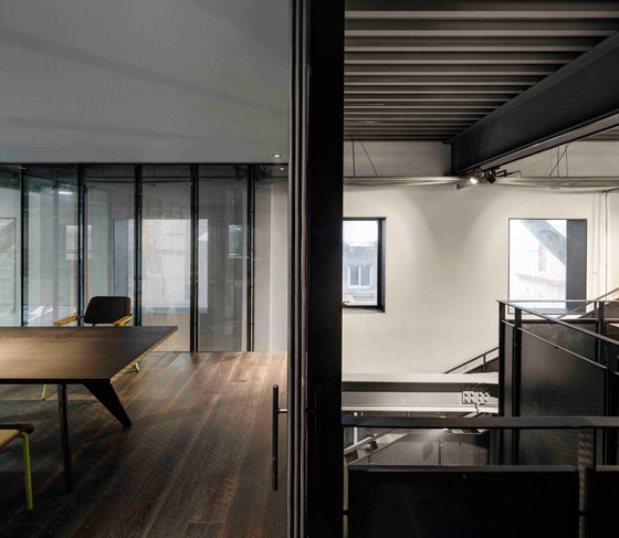 The Garage by Neri & Hu Design and Research Office | Office facilities