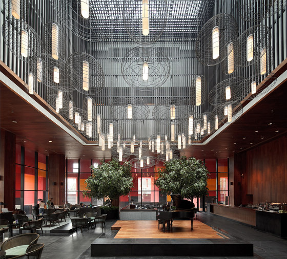 Neri & Hu Design and Research Office-Xi'an Westin Museum Hotel