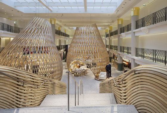 Hermès Rive Gauche de Rena Dumas Architecture Intérieure | Intérieurs de magasin