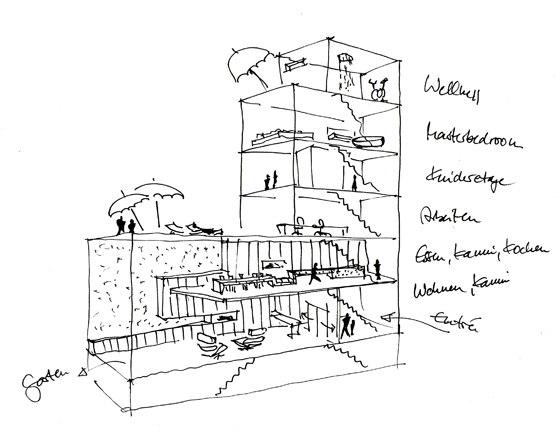 wiewiorra hopp architekten-Townhouse am Friedrichswerder