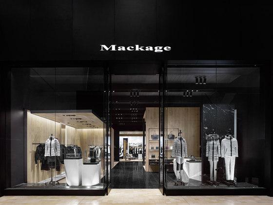 Mackage Tec + Yorkdale de Burdifilek | Shop interiors