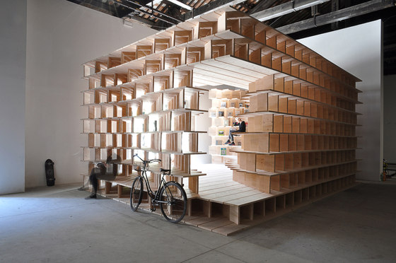 Pavilion of Slovenia - Home at Arsenale by dekleva  gregoric arhitekti | Temporary structures