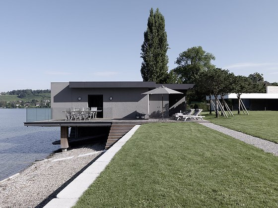 Einfamilienhaus am See by domus mea | Detached houses