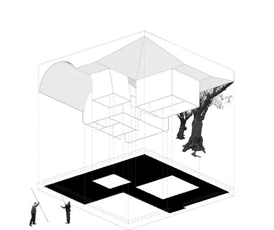 Café Pavilion von architekten martenson und nagel theissen | Restaurants