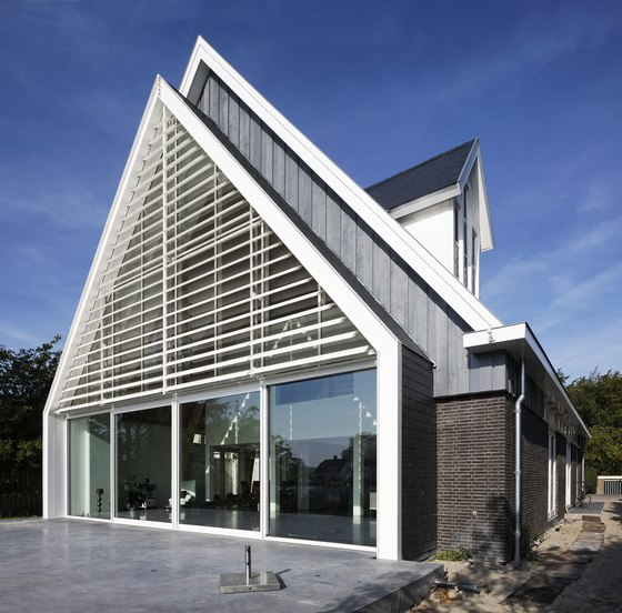 House in a church by Ruud Visser. Architect. | Detached houses
