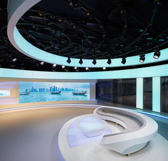Al Jazeera Doha by Veech x Veech   Administration buildings