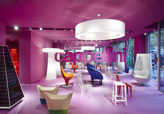 Cappellini flagship store di Bolon reference projects | Manufacturer references