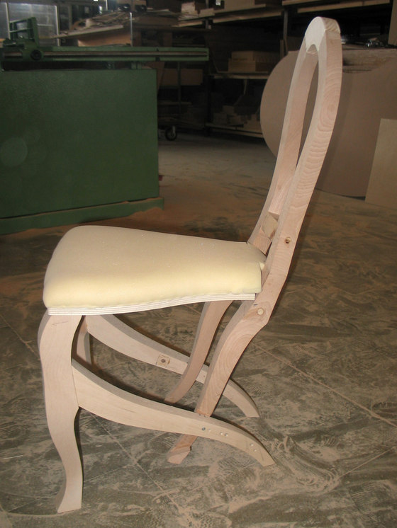Click Clack chair by Nigel Coates | Making-ofs