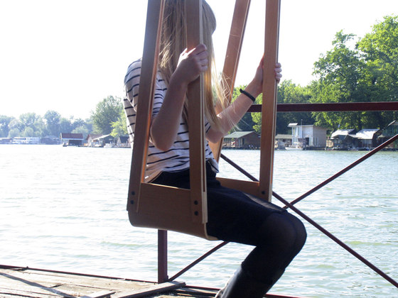 CATAPULT swing chair by Miljana Nikolić | Prototypes