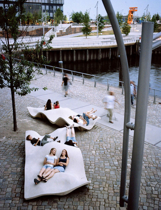 hafencity public space by miralles tagliabue parks. Black Bedroom Furniture Sets. Home Design Ideas