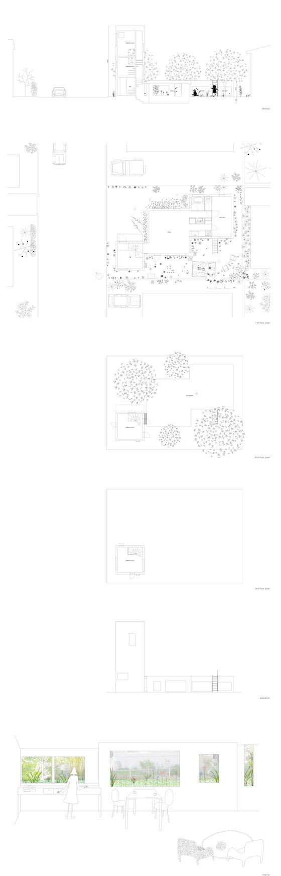 Kumagai House von Hiroshi Kuno + Associates | Einfamilienhäuser
