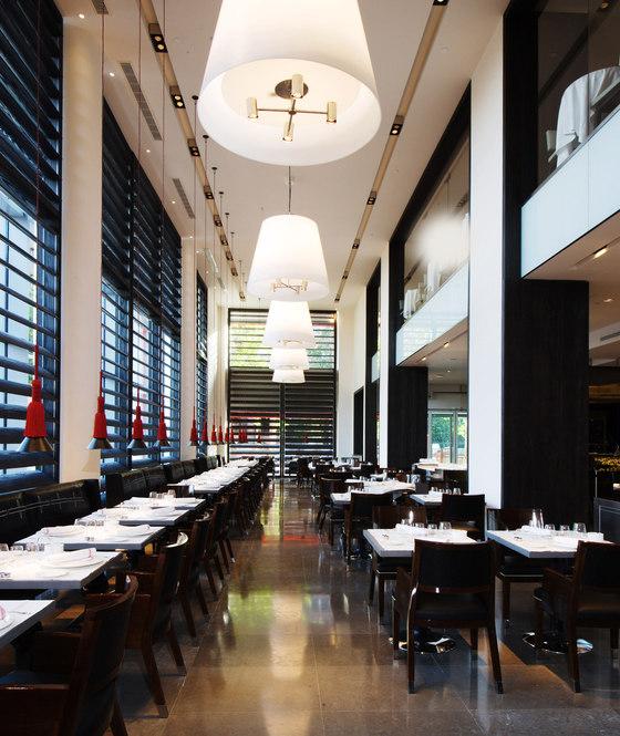 คริสเตียน Liaigre - Hotel Puerta America -- การสร้างและการตกแต่งของร้านอาหาร