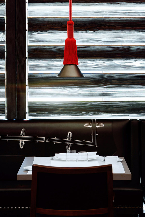 Christian Liaigre-Hotel Puerta America - Creation and decoration of the restaurant