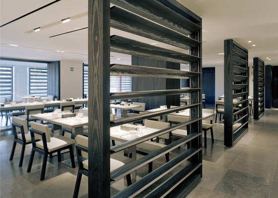 Hotel Puerta America - Creation and decoration of the restaurant von Christian Liaigre | Restaurant-Interieurs