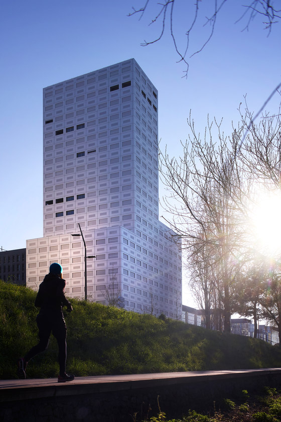 The 360° View Tower by LAN | Apartment blocks