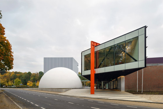 Museumplein limburg by shift architecture urbanism museums