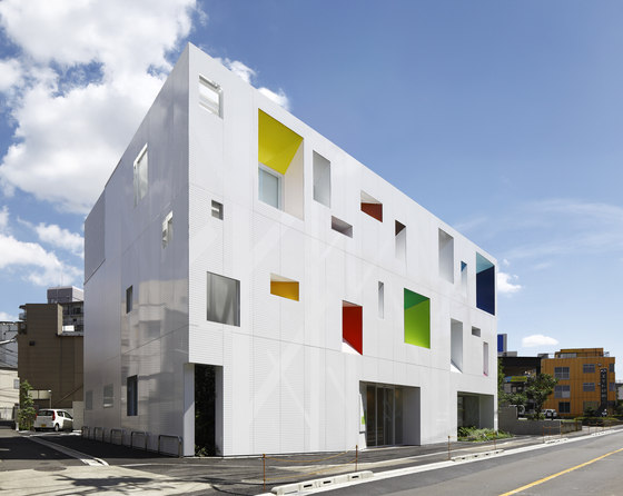 Sugamo Shinkin Bank / Tokiwadai branch by Emmanuelle Moureaux Architecture + Design | Office buildings