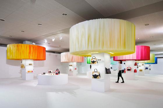 Installation for FURLA / hanami by Emmanuelle Moureaux Architecture