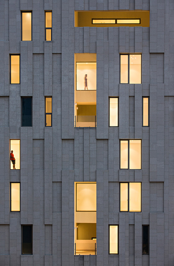 Wind Tower by AGi architects   Apartment blocks