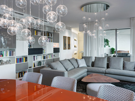 PRIVATE APARTMENT   Milan's CityLife complex by Marco Piva   Living space