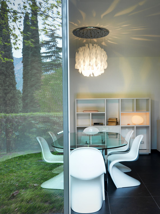 Interior | Villa on Como Lake by Marco Piva | Living space