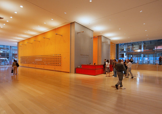 New York Times Building di OVI - Office for Visual Interaction | Edifici per uffici